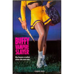 Buffy the Vampire Slayer 1992 Advance One-Sheet Poster