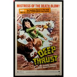Deep Thrust Vintage 1973 One-Sheet Poster