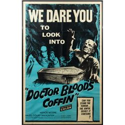 Dr. Blood's Coffin Rare 1961 U.S. One-Sheet Poster