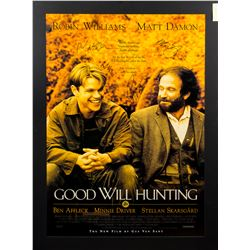 Good Will Hunting Original One-Sheet Poster Signed by Cast