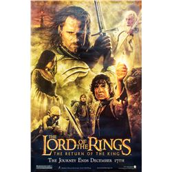 The Lord of the Rings: The Return of the King Subway-Size Large Format Poster