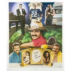 Burt Reynolds Signed Limited Edition Lithograph