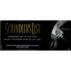 Schindler's List Original Movie Theater Banner