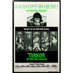 Terror in the Wax Museum Vintage 1973 Style B One-Sheet Poster