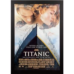 Titanic Original 1997 One-Sheet Poster Signed by Cast Members
