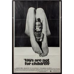Toys Are Not For Children Vintage 1972 One-Sheet Poster