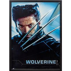X-Men 2 Original Wolverine Character Poster Signed by Hugh Jackman