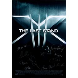X-Men: The Last Stand Original One-Sheet Poster Signed by Cast
