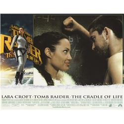 Lara Croft Tomb Raider -The Cradle of Life Original 2003 Lobby Cards Set