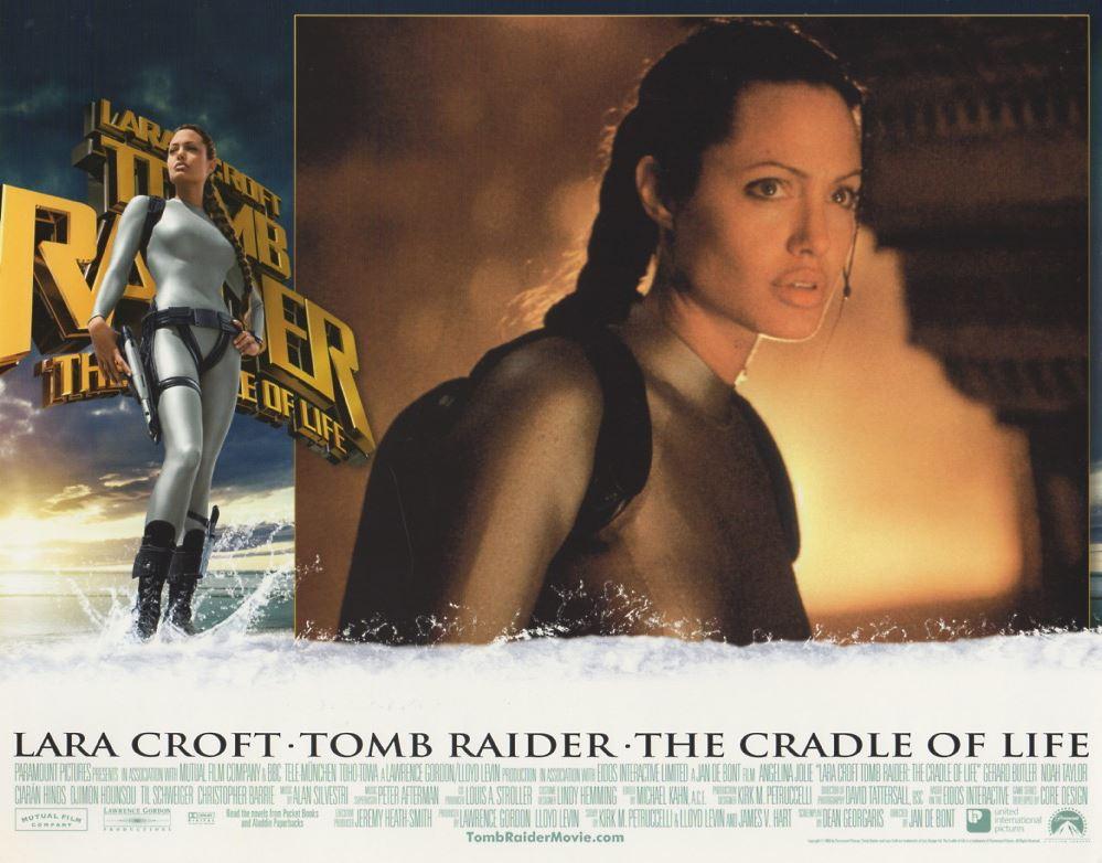 Lara Croft Tomb Raider The Cradle Of Life Original 2003 Lobby