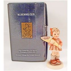VINTAGE HUMMEL A SWEET OFFERING FIGURINE IN ORIGINAL BOX