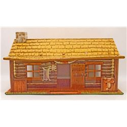 VINTAGE 1950'S MARX TIN LITHO BAR-M-RANCH HOUSE