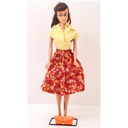 1964 BRUNETTE SWIRL PONYTAIL BARBIE DOLL WITH CLOTHES