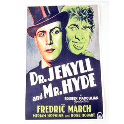 DR. JEKYLL AND MR. HYDE MOVIE POSTER PRINT - 11X17