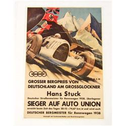 GERMAN AUTO RACING MUSEUM GRADE GICLEE CANVAS 8X10 PRINT