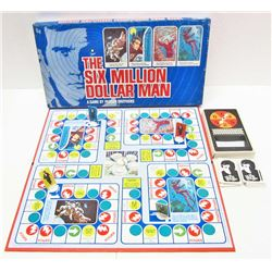 VINTAGE 1975 THE SIX MILLION DOLLAR MAN BOARD GAME