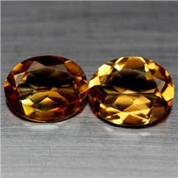 LOT OF 5.08 CTS OF GOLDEN YELLOW BRAZILIAN CITRINE