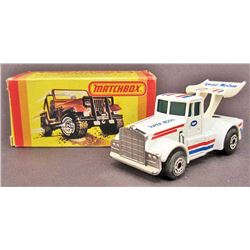 VINTAGE 1980'S MATCHBOX KENWORTH SUPERBOSS - IN ORIG. BOX