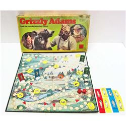 VINTAGE 1978 GRIZZLY ADAMS BOARD GAME IN ORIG. BOX