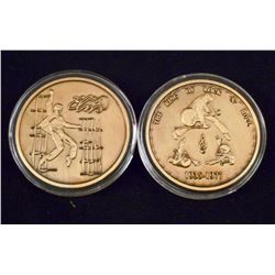 THE KING OF ROCK 'N' ROLL ELVIS PRESLEY COLLECTORS COIN