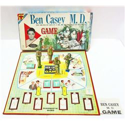 VINTAGE 1961 BEN CASEY M.D. BOARD GAME IN ORIG. BOX