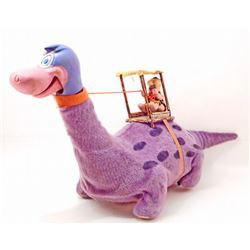 VINTAGE 1962 FRED FLINTSTONE DINO THE DINOSAUR BATTERY OPERATED TOY