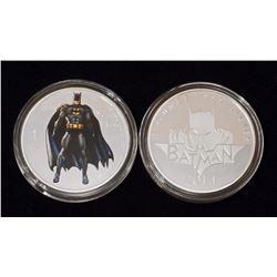 BATMAN 1 OZ. .999 SILVER CLAD COLLECTIBLE COIN