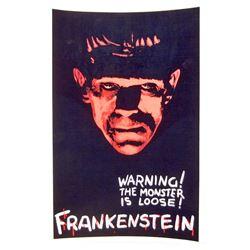 FRANKENSTEIN MOVIE POSTER PRINT - 11X17