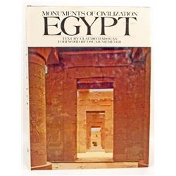 """""""EGYPT - MONUMENTS OF CIVILIZATION"""" HARDCOVER BOOK WITH DUSTJACKET"""