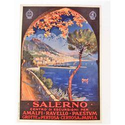 SALERNO MUSEUM GRADE GICLEE CANVAS 8X10 PRINT