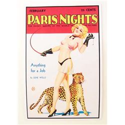 PARIS NIGHTS MOVIE POSTER PRINT