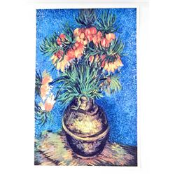 LILLIES BY VAN GOGH ART POSTER PRINT - 11X17
