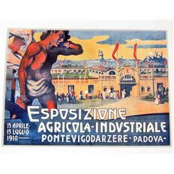 ESPOSIZIONE MUSEUM GRADE GICLEE CANVAS 8X10 PRINT