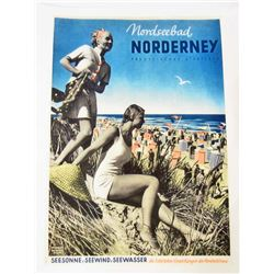 NORDERNEY MUSEUM QUALITY GICLEE 8X10 CANVAS PRINT