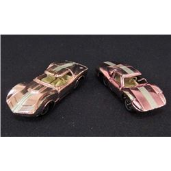 LOT OF 2 VINTAGE AURORA CIGAR BOX CARS