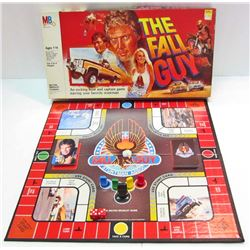 VINTAGE 1981 THE FALL GUY BOARD GAME IN ORIG. BOX