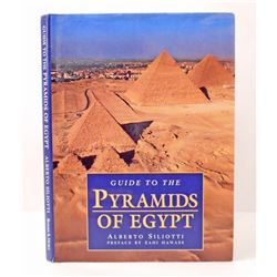 """""""GUIDE TO THE PYRAMIDS OF EGYPT"""" HARDCOVER BOOK WITH DUSTJACKET"""