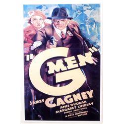 "G MEN MOVIE POSTER PRINT APPROX. 11"" X 17"""