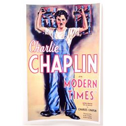 "CHARLIE CHAPLIN ""MODERN TIMES"" MOVIE POSTER PRINT APPROX 11"" X 17"""