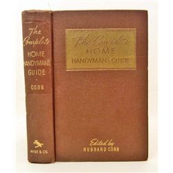 1951 HOME HANDYMAN'S GUIDE HARDCOVER BOOK - BY HUBBARD COBB