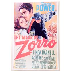 """THE MARK OF ZORO MOVIE POSTER PRINT APPROX 11"""" X 17"""""""