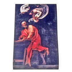 CARAVAGGIO ST. JOHN THE BAPTIST ART POSTER PRINT - 11X17