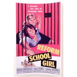"REFORM SCHOOL GIRL MOVIE POSTER PRINT APPROX 11"" X 17"""