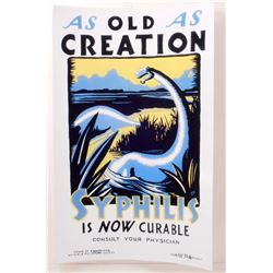 """AS OLD AS CREATION WORKS PROJECTS POSTER PRINT APPROX 11"""" X 17"""""""