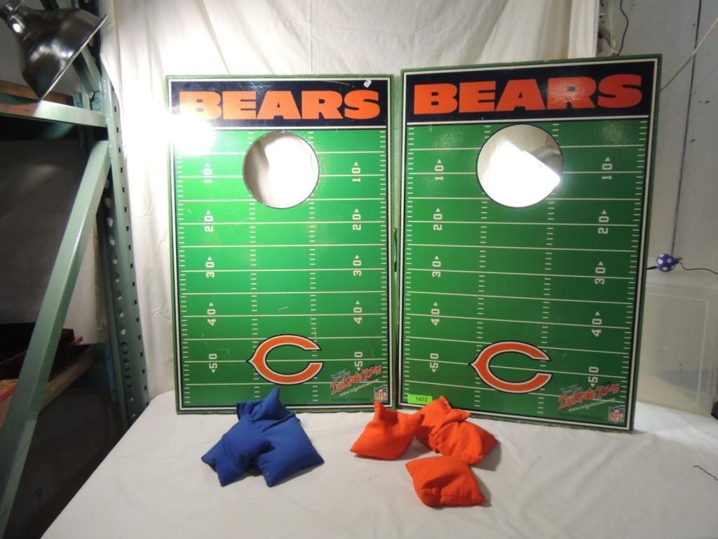 Pleasing Chicago Bears Original Bean Bag Tailgate Toss Game Alphanode Cool Chair Designs And Ideas Alphanodeonline