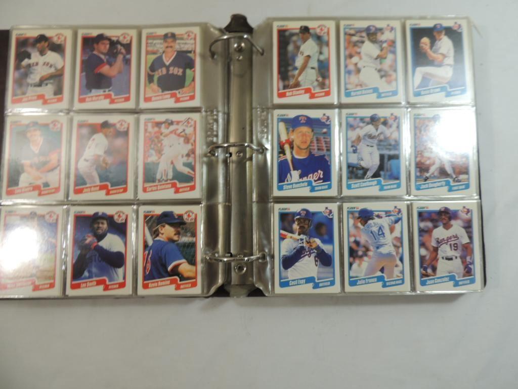 1990 Fleer Baseball Cards Binder