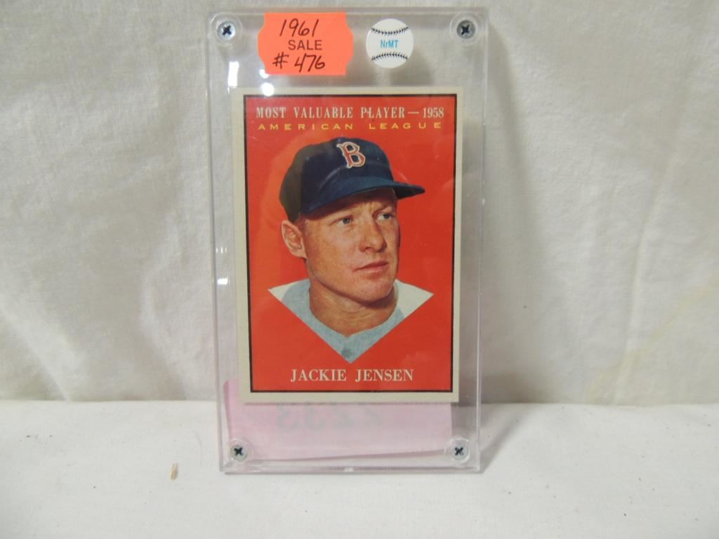 1961 Nrmt Jackie Jenson Baseball Card 476