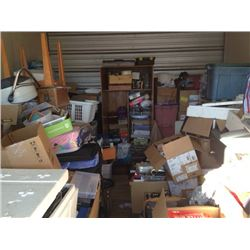 SELF STORAGE 1 UNIT - UNCLAIMED MERCHANDISE
