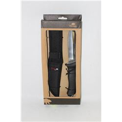 NEW OLYMPIA 30177 HUNTING KNIVE WITH CASE