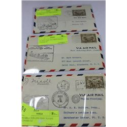SCARCE 1929-1930 FIRST FLIGHT COVERS X3